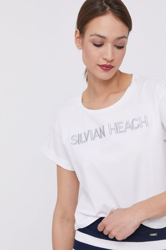 alb Silvian Heach - Tricou De femei