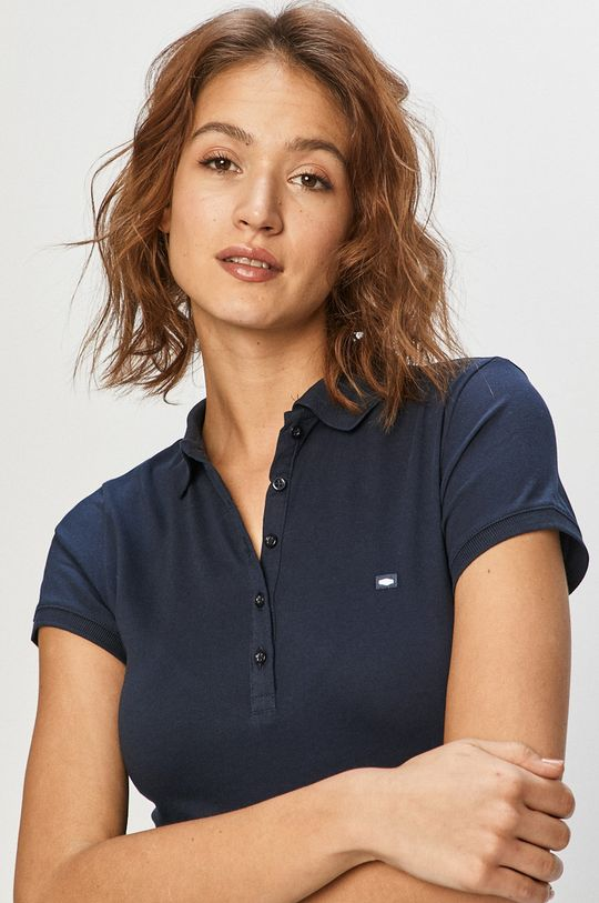 bleumarin Cross Jeans - Tricou