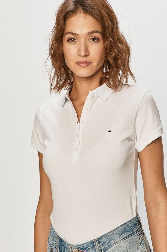 alb Cross Jeans - Tricou Polo De femei