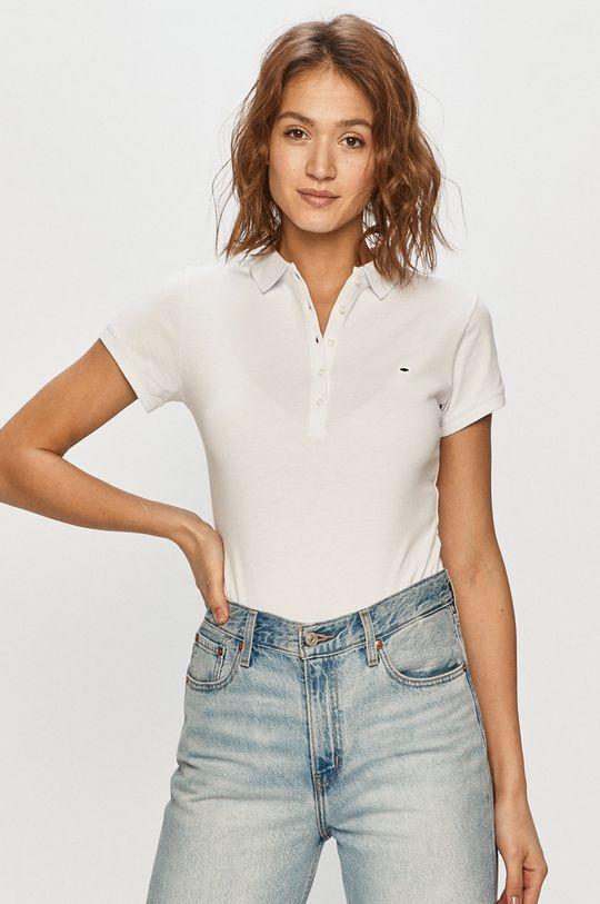 alb Cross Jeans - Tricou Polo
