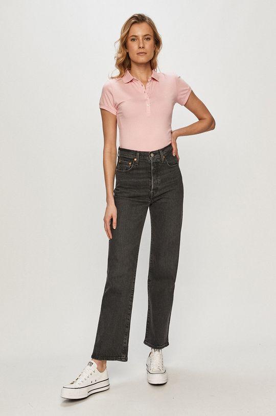 Cross Jeans - Tricou roz