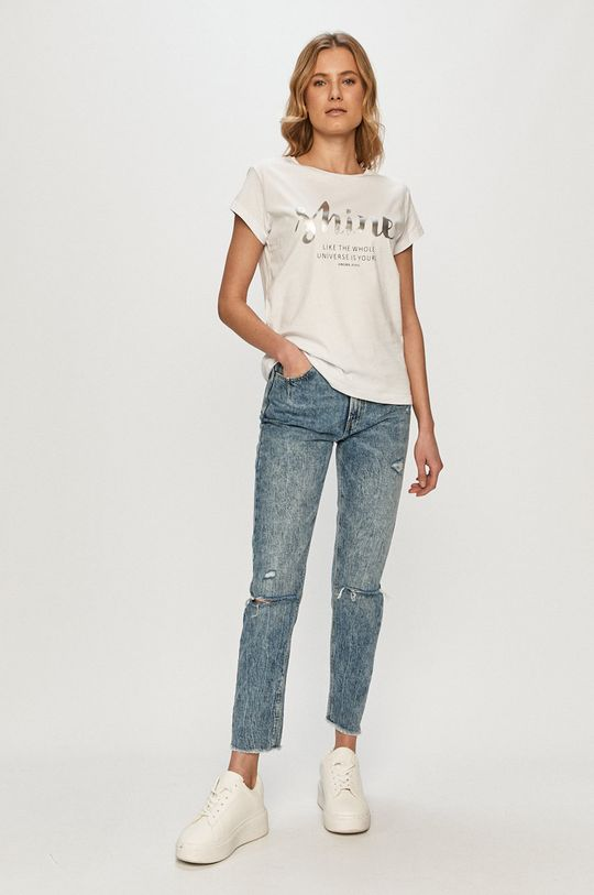 Cross Jeans - Tricou alb