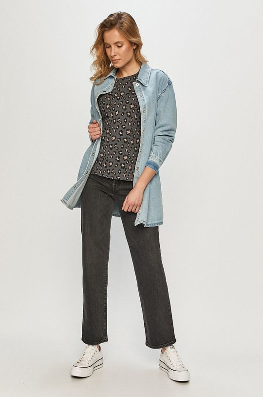 Cross Jeans - Tričko šedá