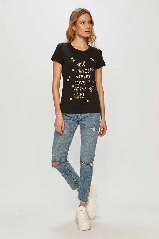 Cross Jeans - Tricou negru