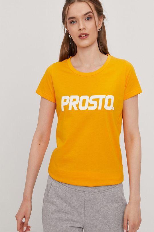 oranžová Prosto - Tričko Dámsky