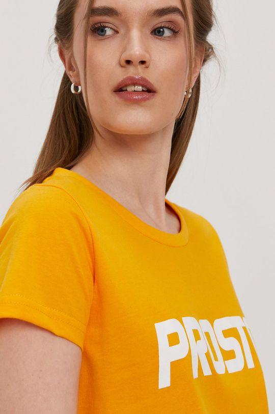 oranžová Prosto - Tričko