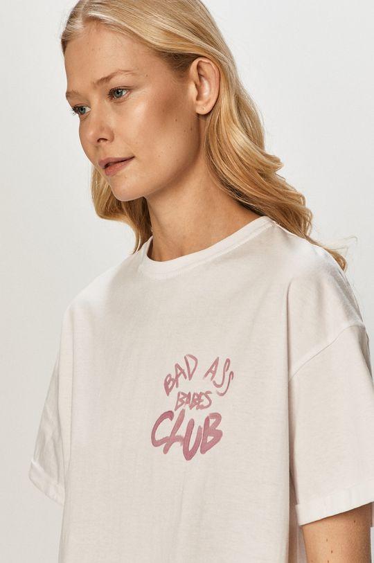 biały Dash My Buttons - T-shirt Bad Ass Babes