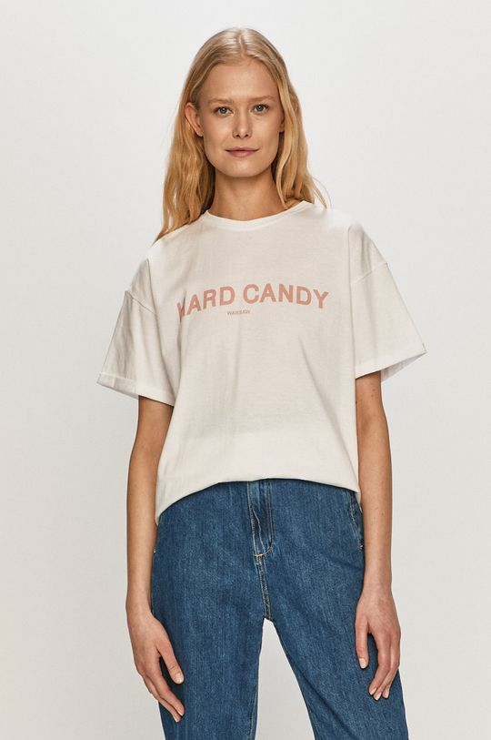 bílá Dash My Buttons - Tričko Hard Candy Dámský