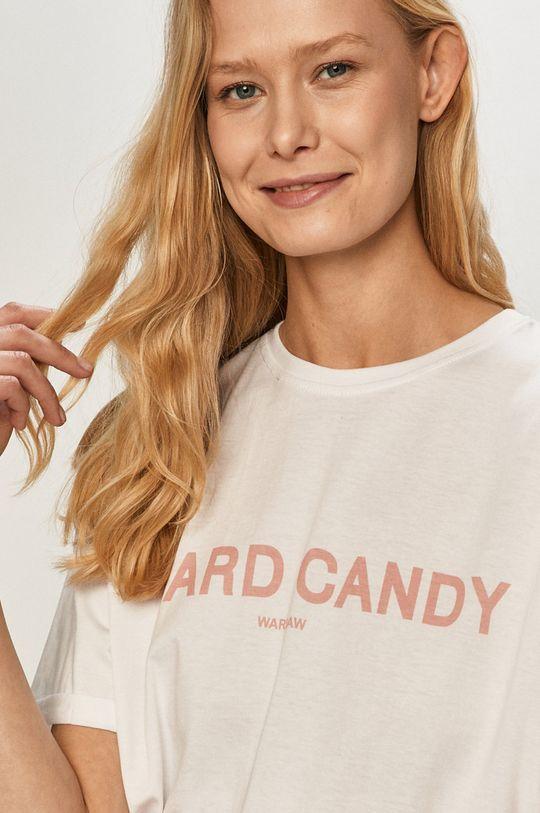 bílá Dash My Buttons - Tričko Hard Candy