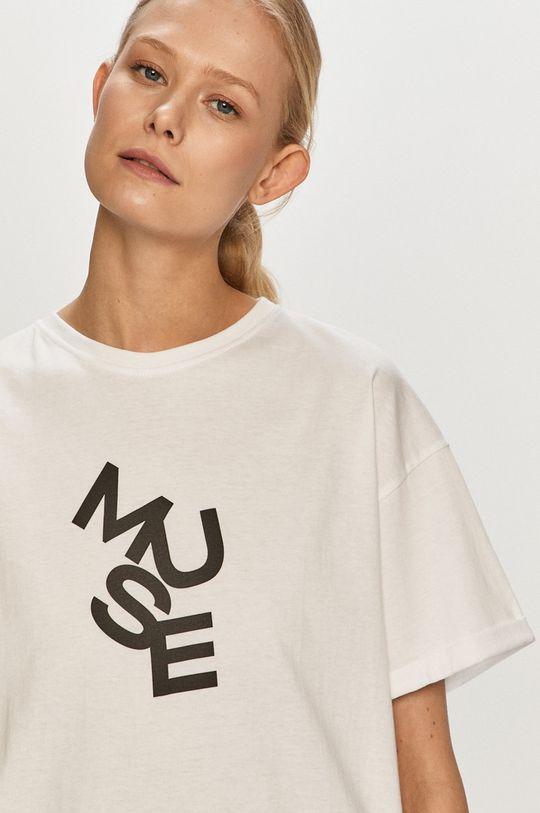 bílá Dash My Buttons - Tričko Muse