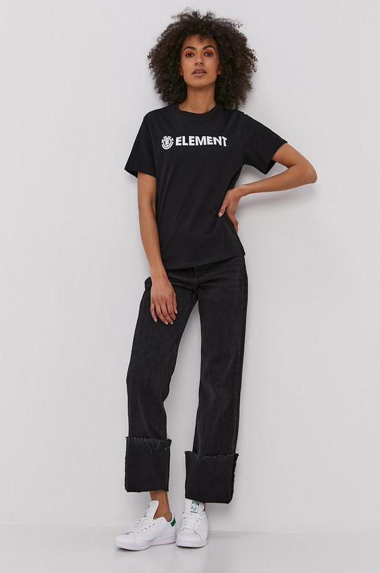 Element - T-shirt czarny