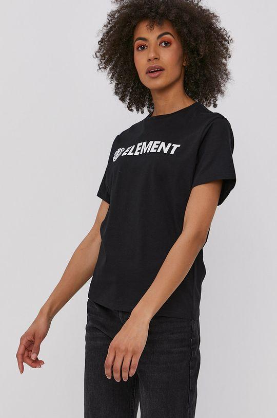 czarny Element - T-shirt
