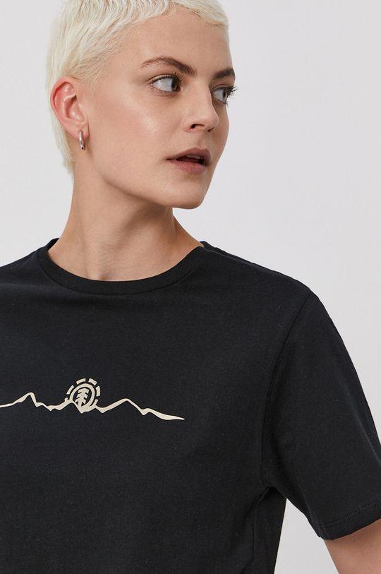 czarny Element - T-shirt x Peanuts