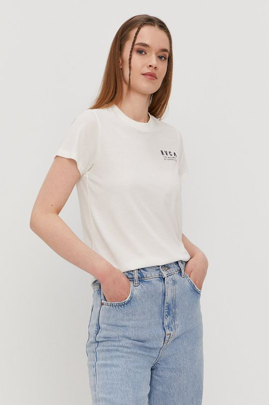 RVCA - Tričko  50% Bavlna, 50% Polyester