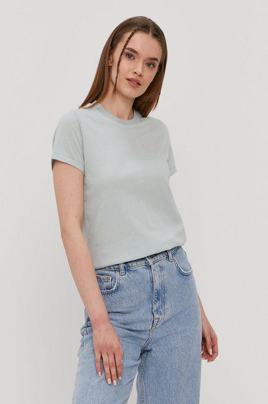 zielony RVCA - T-shirt Damski