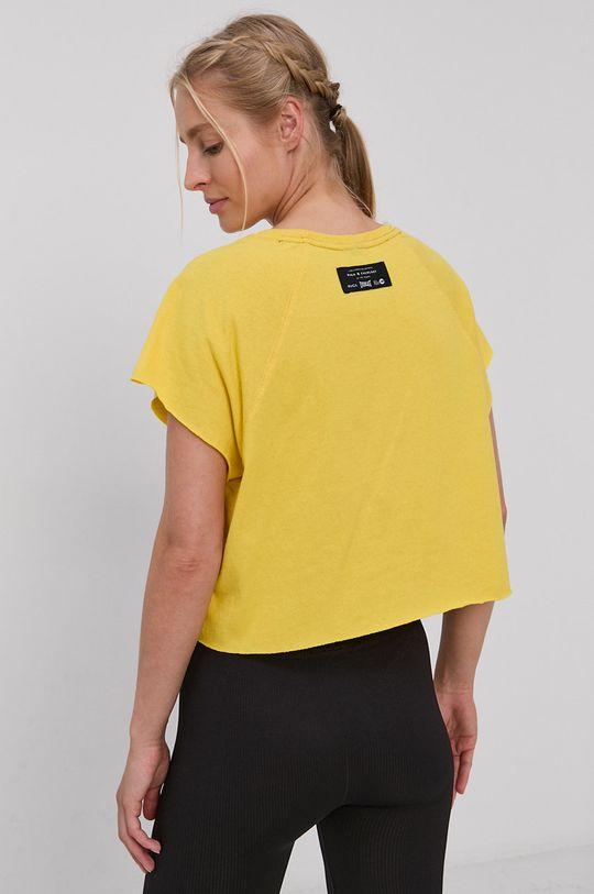 RVCA - T-shirt bawełniany 100 % Bawełna