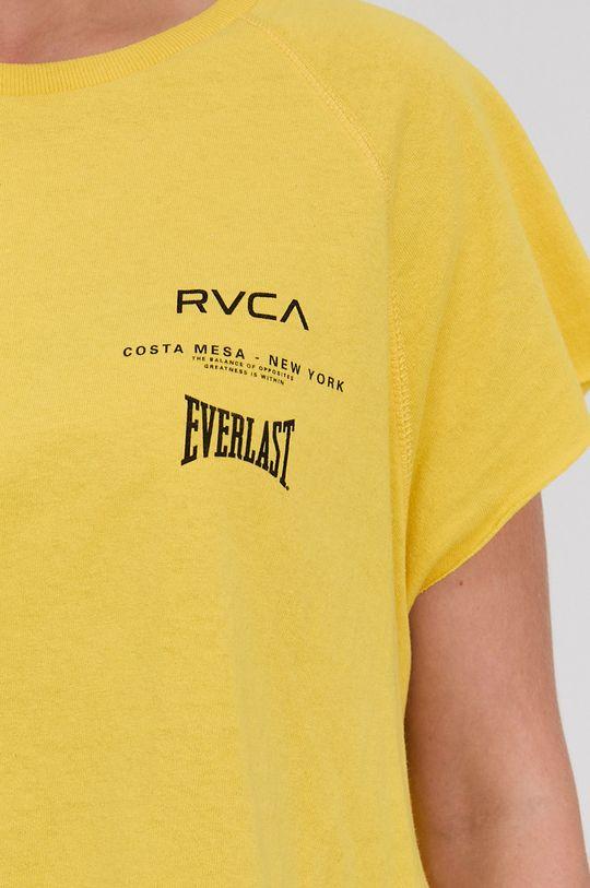 RVCA - T-shirt bawełniany Damski