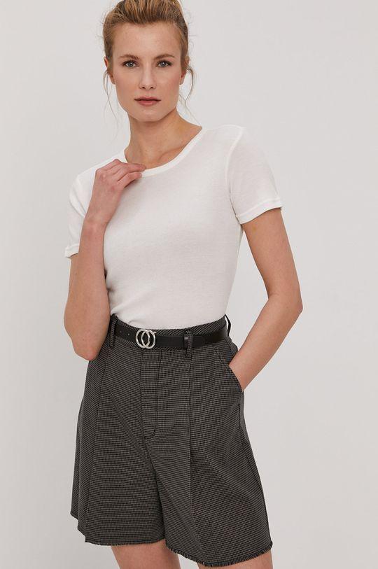 biały Brixton - T-shirt Damski