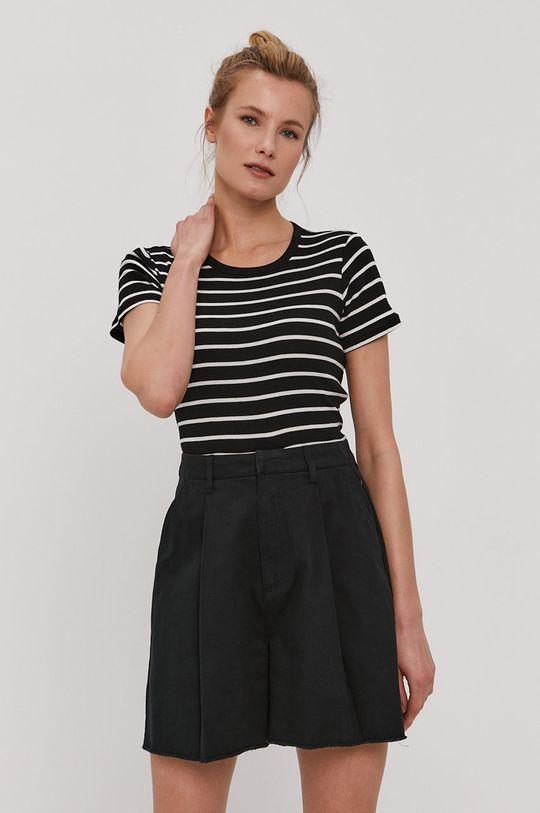 czarny Brixton - T-shirt Damski