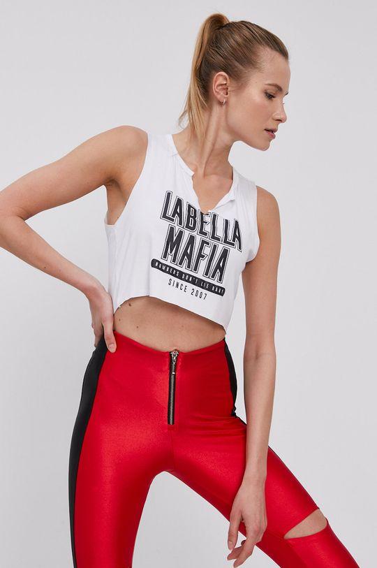 biały LaBellaMafia - Top Damski