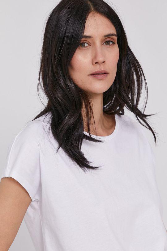 biały Lee Cooper - T-shirt