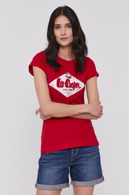 červená Lee Cooper - Tričko Dámsky