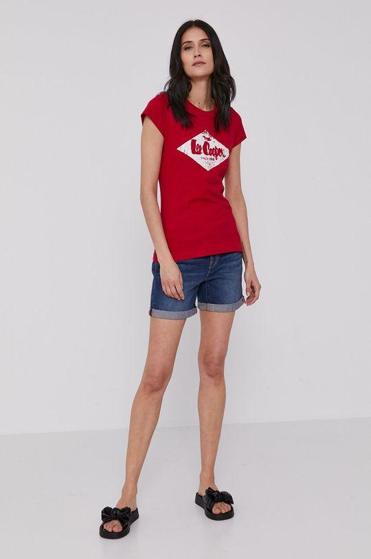 Lee Cooper - Tričko červená