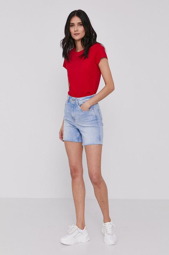 Lee Cooper - T-shirt czerwony