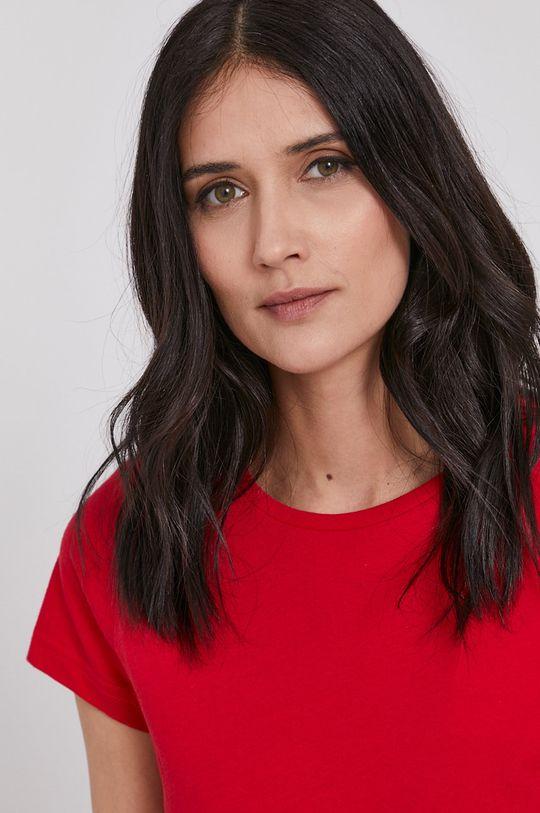 czerwony Lee Cooper - T-shirt