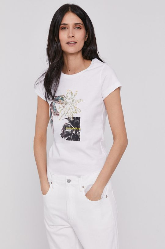 Lee Cooper - T-shirt biały