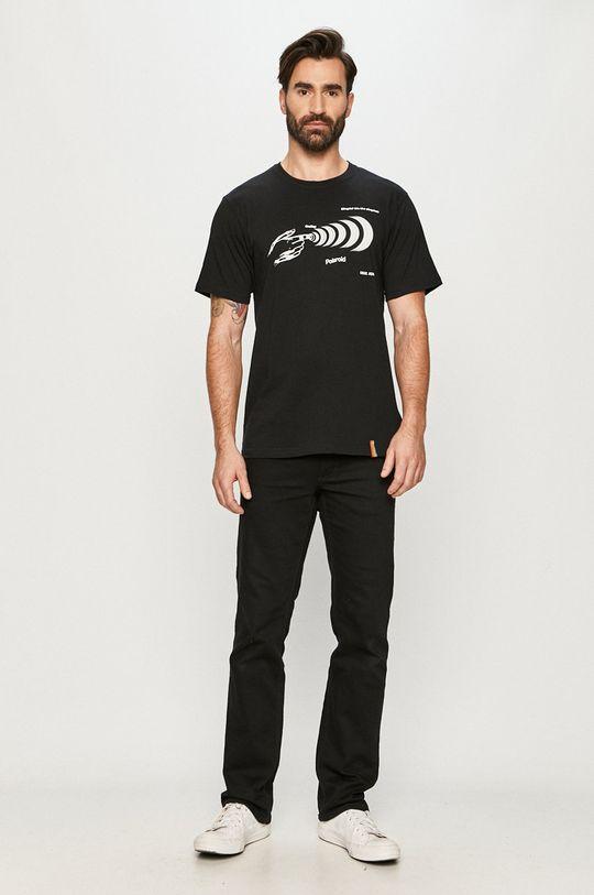 Local Heroes - T-shirt x Polaroid czarny