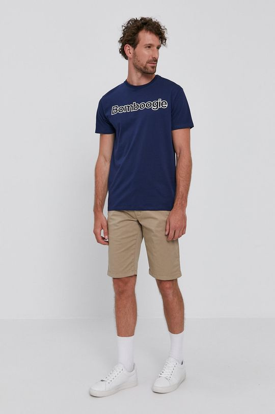 Bomboogie - T-shirt granatowy