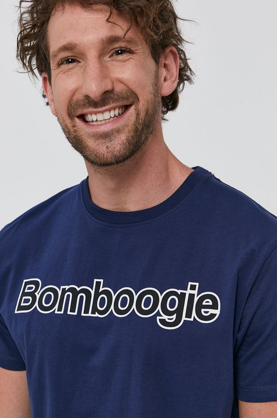 granatowy Bomboogie - T-shirt