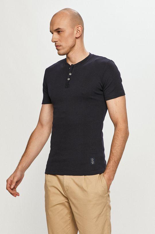 bleumarin Cross Jeans - Tricou De bărbați