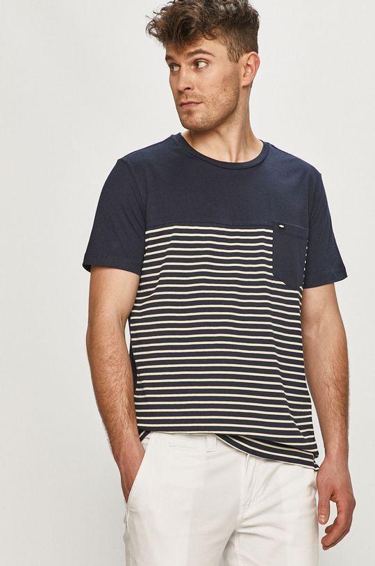 námořnická modř Cross Jeans - Tričko Pánský