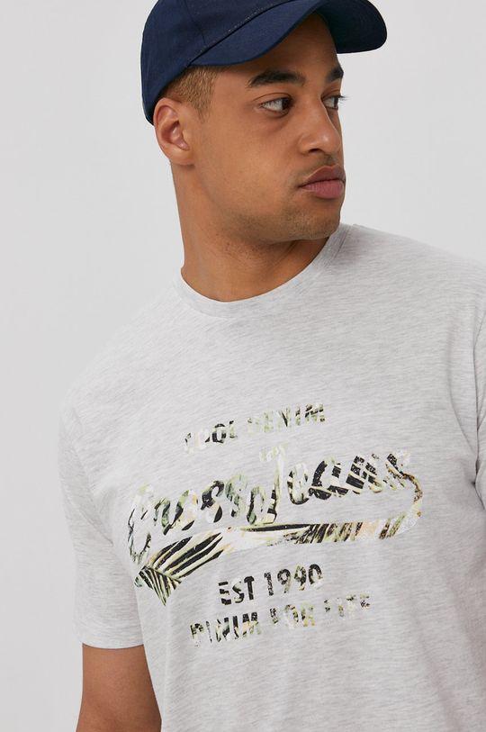 svetlosivá Cross Jeans - Tričko