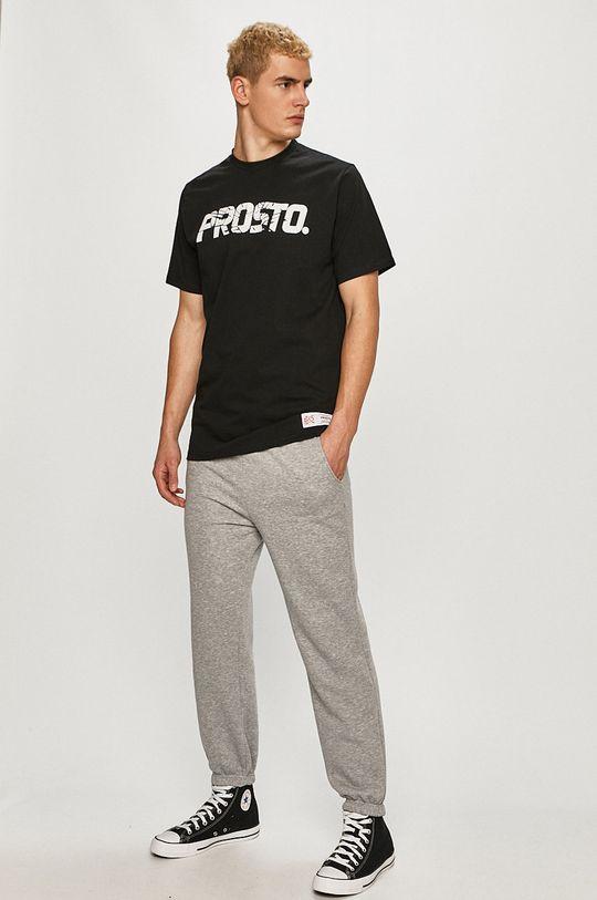 Prosto - T-shirt czarny
