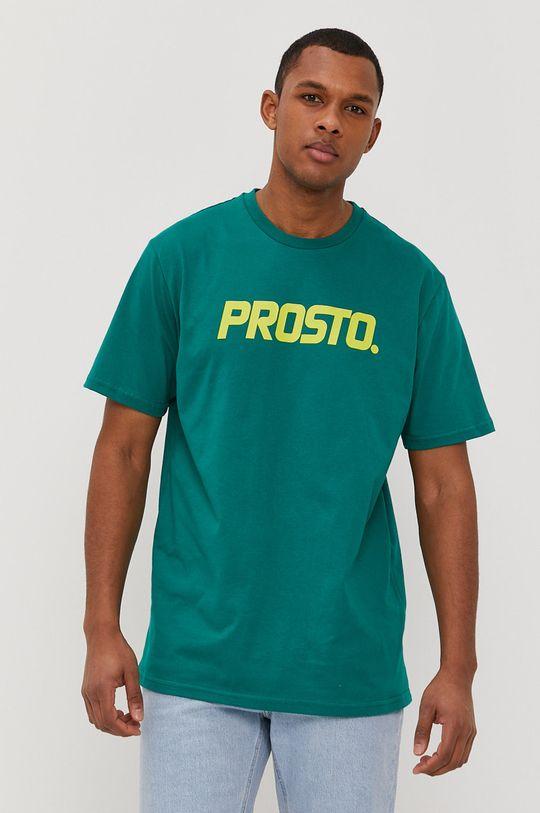 zelená Prosto - Tričko Pánský