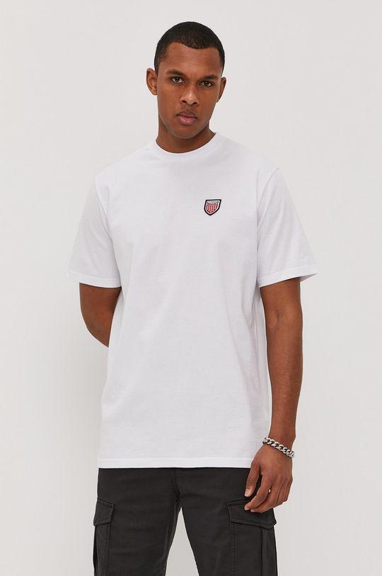 biały Prosto - T-shirt Męski