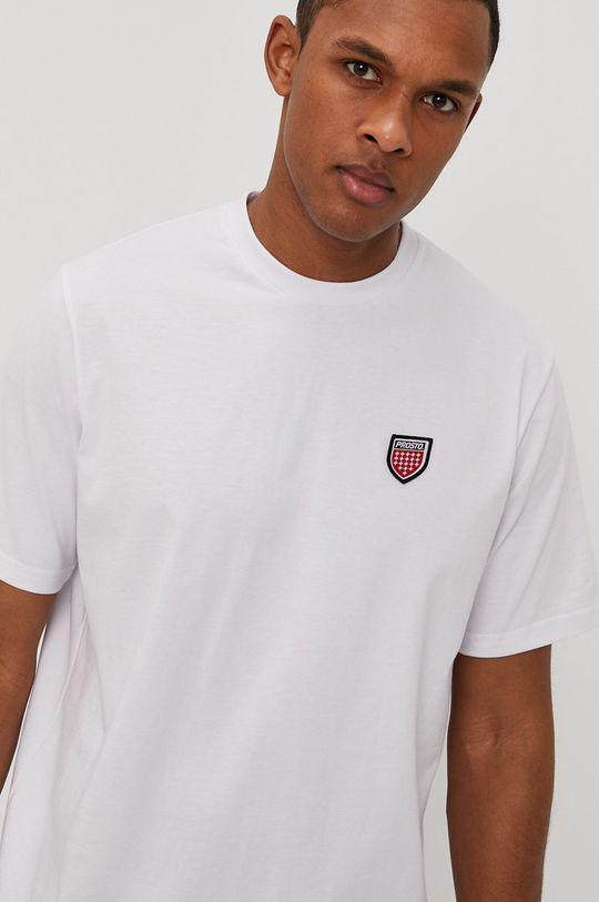 biały Prosto - T-shirt