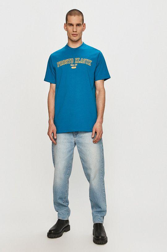 Prosto - T-shirt niebieski