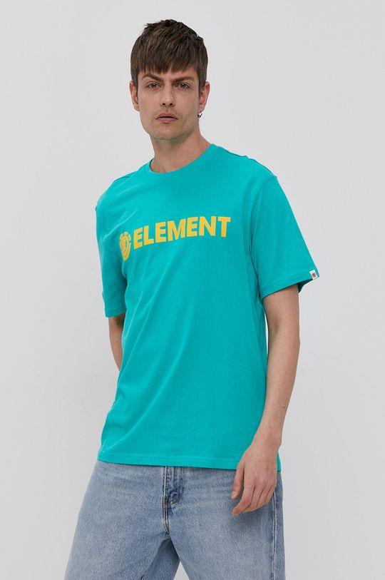 tyrkysová Element - Tričko Pánský