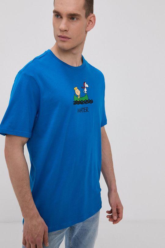 modrá Element - Tričko x Peanuts Pánský