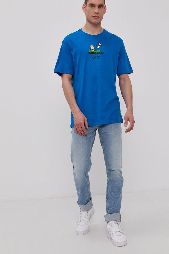 Element - Tričko x Peanuts modrá