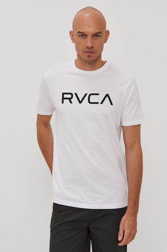 biały RVCA - T-shirt Męski