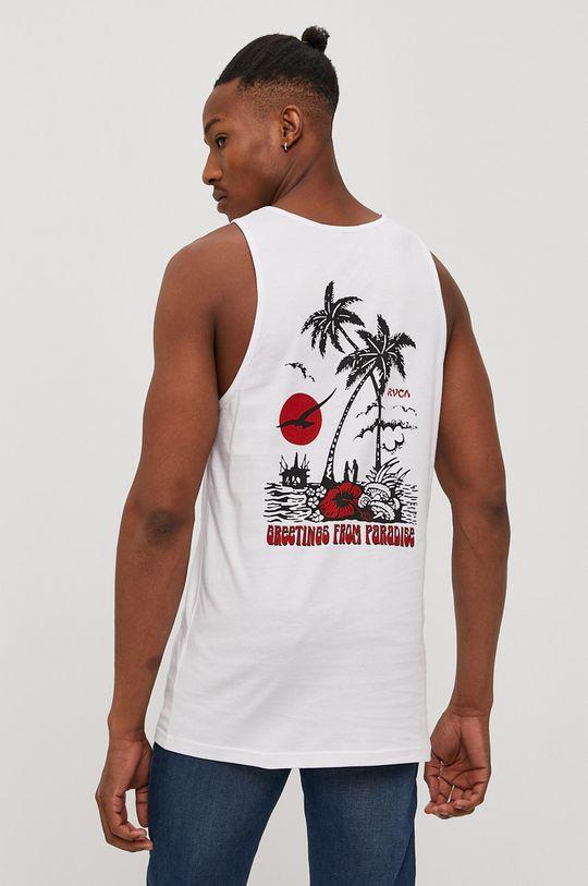biały RVCA - T-shirt