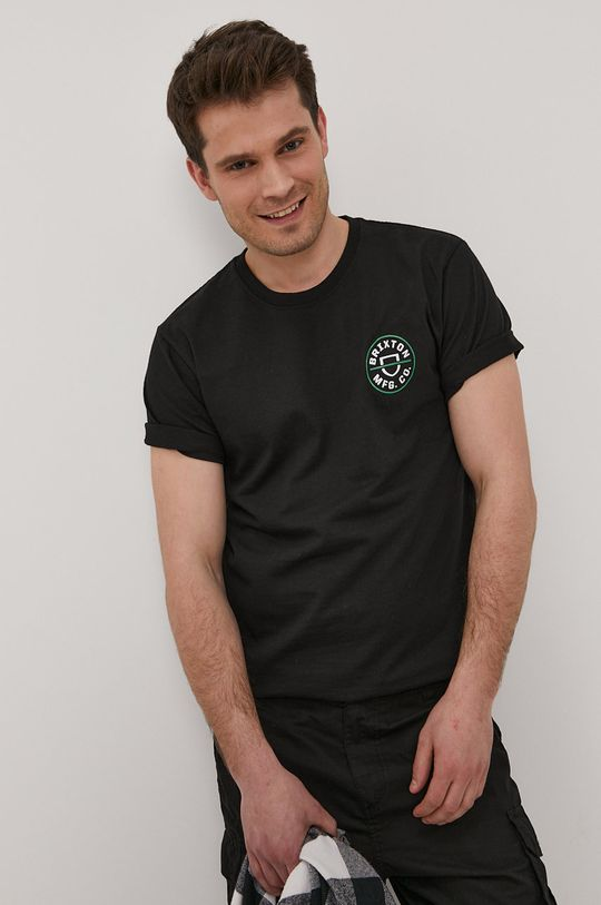 Brixton - Tričko  50% Recyklovaný polyester, 50% Recyklovaná bavlna