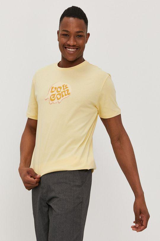 Volcom - Tričko jasně žlutá