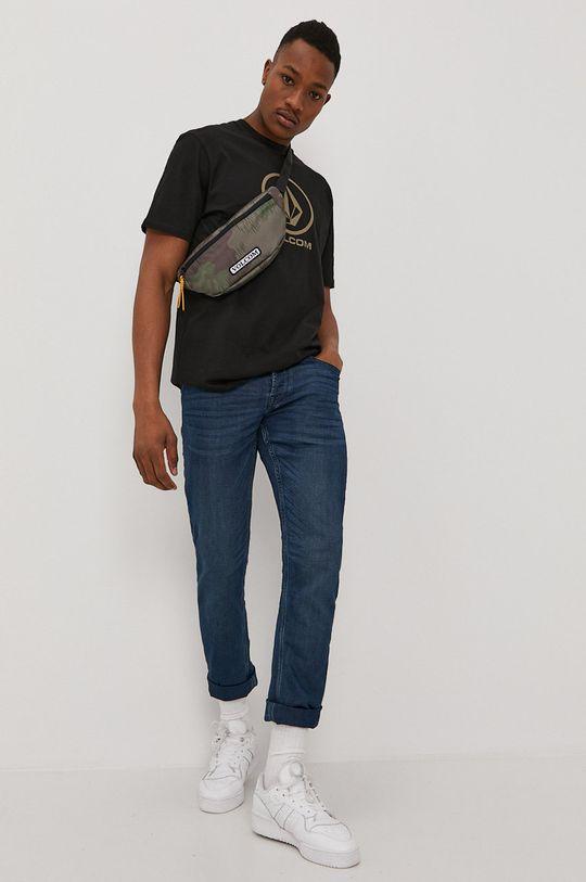 černá Volcom - Tričko Pánský