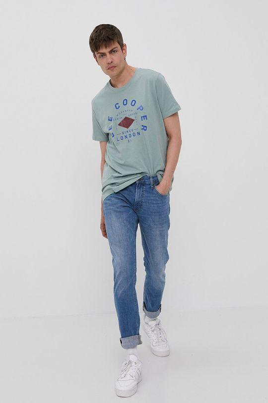Lee Cooper - T-shirt zielony